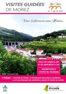 Flyer visites guidées Mairie de Morez