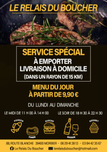 Affiche A3 Restaurant Morbier
